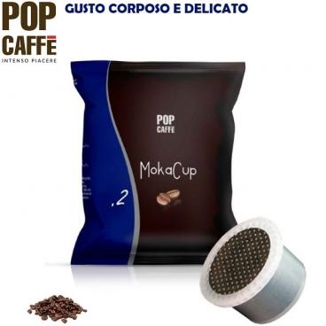 50 CAPSULE SIMFED POP CAFFE' - MOKA CUP MISCELA .2 CREMOSO | COMPATIBILI CON SISTEMI UNO SYSTEM