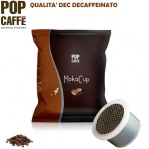 50 CAPSULE SIMFED POP CAFFE' - MOKA CUP MISCELA .4 DEC DECAFFEINATO | COMPATIBILI CON SISTEMI UNO SYSTEM 10,99€