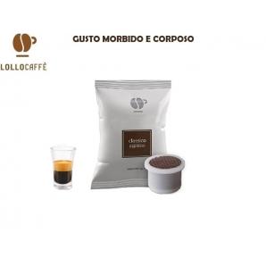 100 CAPSULE LOLLO CAFFE' QUALITA' MISCELA CLASSICA - COMPATIBILI SISTEMI UNO SYSTEM 20,49€