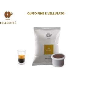100 CAPSULE LOLLO CAFFE' QUALITA' ORO - COMPATIBILI SISTEMI UNO SYSTEM 20,49€