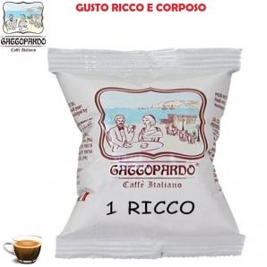 50 CAPSULE TO.DA CAFFE' GATTOPARDO QUALITA' GUSTO RICCO - COMPATIBILI SISTEMI UNO SYSTEM 8,99€