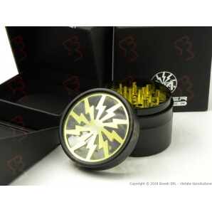 GRINDER GIALLO 4 PARTI HIGH QUALITY MASTER GRINDER TRITATABACCO IN METALLO - 1 MASTER GRINDER 41,49 €