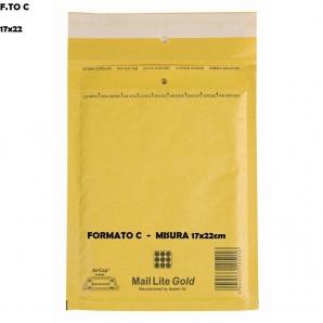 BUSTE POSTALI IMBOTTITE CON PLURIBALL - FORMATO C 17 X 22 | SFUSE O CONFEZIONE COMPLETA 1,13€