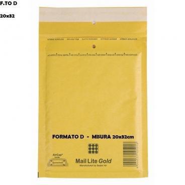 BUSTE POSTALI IMBOTTITE CON PLURIBALL - FORMATO D 20 x 32 | SFUSE O CONFEZIONE COMPLETA