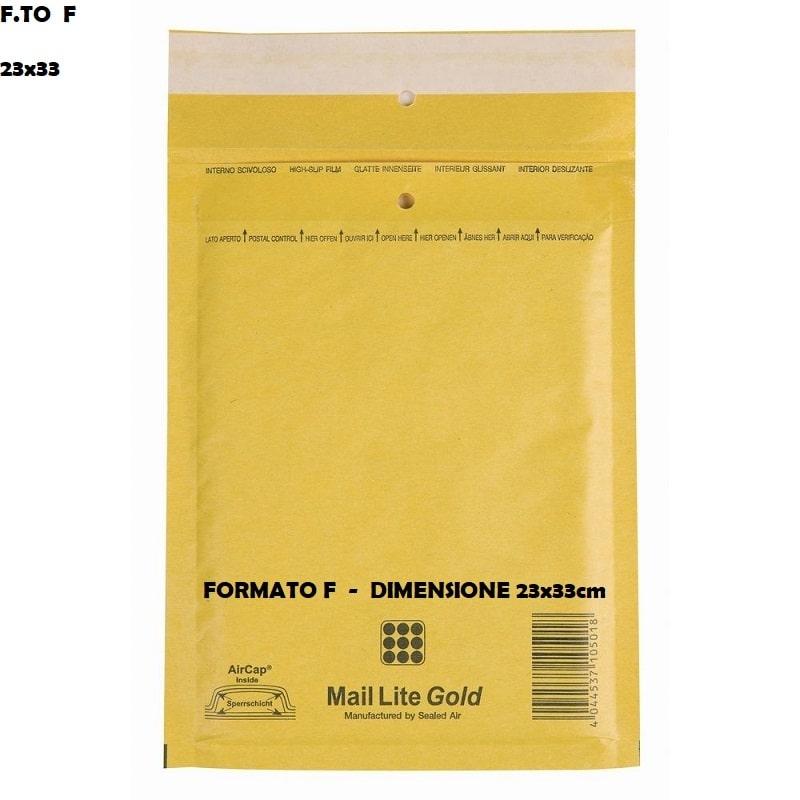 BUSTE POSTALI IMBOTTITE CON PLURIBALL - FORMATO F 25 x 39 | SFUSE O CONFEZIONE COMPLETA 1,19€