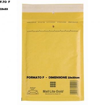 BUSTE POSTALI IMBOTTITE CON PLURIBALL - FORMATO F 25 x 39 | SFUSE O CONFEZIONE COMPLETA