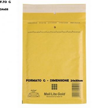 BUSTE POSTALI IMBOTTITE CON PLURIBALL - FORMATO G 26 x 39 | SFUSE O CONFEZIONE COMPLETA