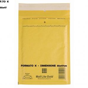 BUSTE POSTALI IMBOTTITE CON PLURIBALL - FORMATO K 37 x 53 | SFUSE O CONFEZIONE COMPLETA 1,39€