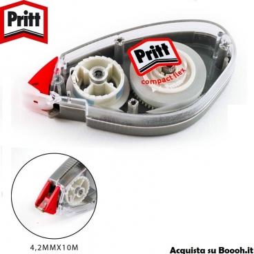 PRITT CORRETTORE A NASTRO COMPACT FLEX ROLLER - 4,2mm x 10 M | 1 BIANCHETTO O CONFEZIONE COMPLETA