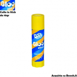 COLLA POOL OVER STICK DA 10gr - 1 TUBETTO O CONFEZIONE COMPLETA 1,09 €