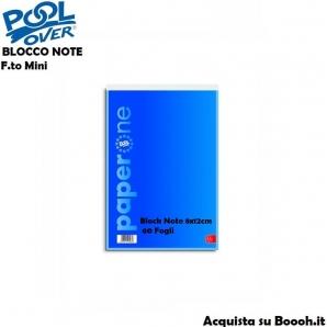 BLOCK NOTES PICCOLO FORMATO 8 X 12cm - BLOCCO NOTE SFUSI OPPURE CONFEZIONE COMPLETA 0,51€