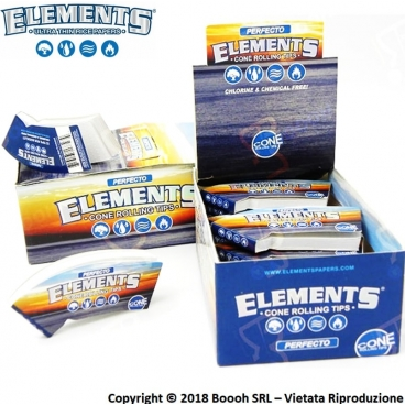 ELEMENTS FILTRI IN CARTA PERFECTO PER CONI - BOX DA 24 BLOCCHETTI