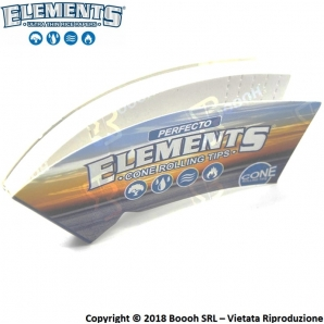 ELEMENTS PERFECTO FILTRI IN CARTA PER CONI - BLOCCHETTO SINGOLO 0,59 €