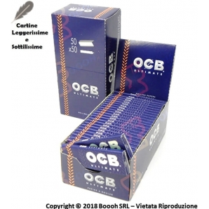 OCB CARTINE ULTIMATE CORTE SINGOLE - BOX DA 50 LIBRETTI 12,89 €