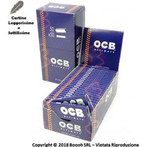 OCB CARTINE ULTIMATE CORTE SINGOLE - BOX DA 50 LIBRETTI 12,89€