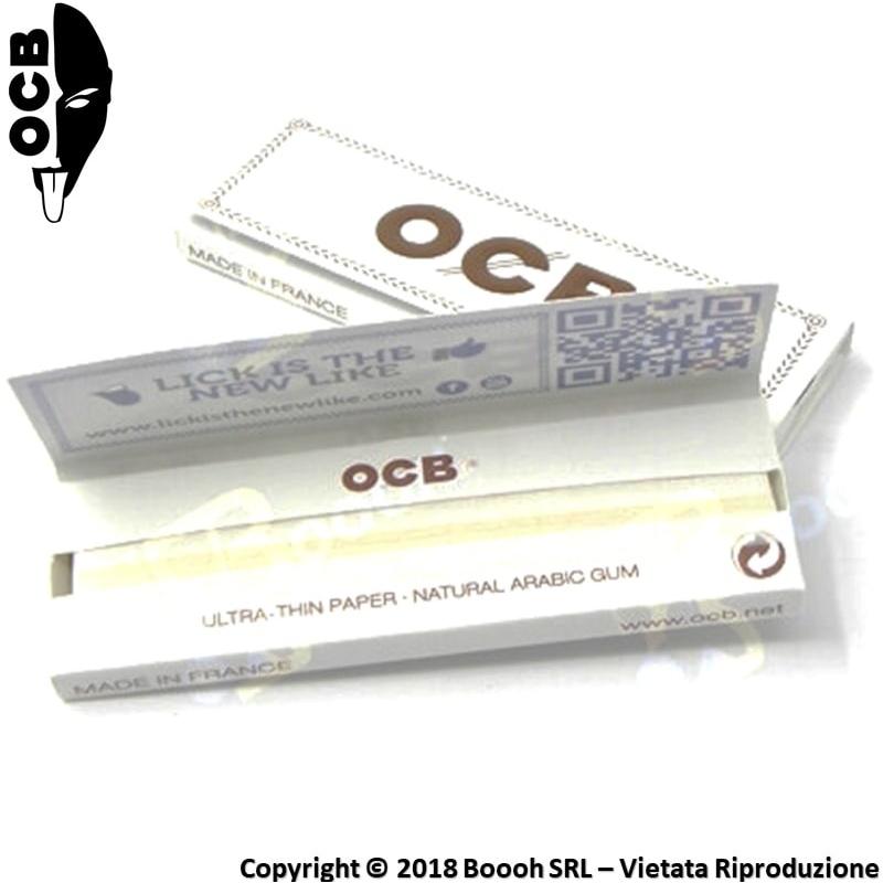 OCB CARTINE CORTE SINGOLE BIANCHE - 1 LIBRETTO DA 50 CARTINE 0,29€