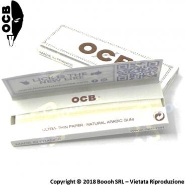 OCB CARTINE CORTE SINGOLE BIANCHE - 1 LIBRETTO DA 50 CARTINE