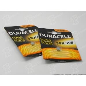 DURACELL 399 / 395 OSSIDO DI ARGENTO 1,5V - BLISTER DA 1 BATTERIE 1,69€