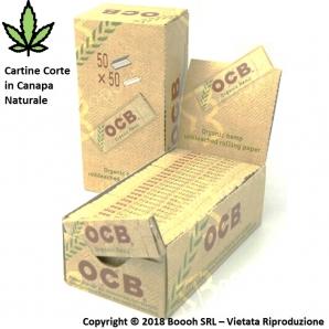 CARTINE OCB ORGANIC HEMP CORTE CANAPA BIOLOGICA - CONFEZIONE DA 50 LIBRETTI 11,29€