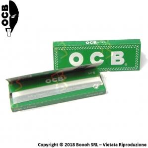 OCB CARTINE CORTE SINGOLE VERDI CON ANGOLI TAGLIATI - 1 LIBRETTO DA 50 CARTINE 0,33€