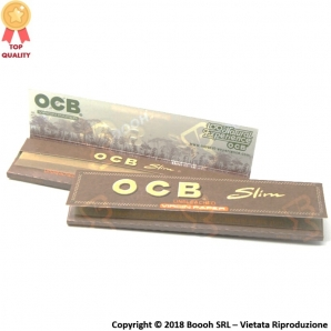 OCB CARTINE KS SLIM VIRGIN BROWN - LIBRETTO DA 32 CARTINE 0,69 €