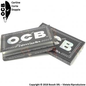 OCB CARTINE CORTE DOPPIE NERE PREMIUM - 1 LIBRETTO 0,69€