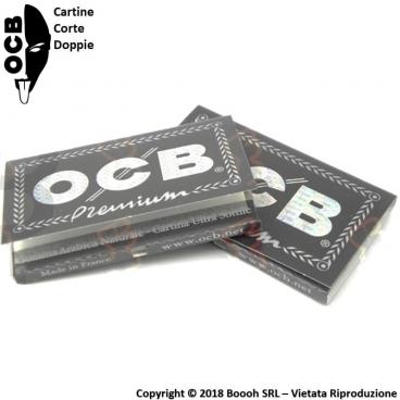 OCB CARTINE CORTE DOPPIE NERE PREMIUM - 1 LIBRETTO