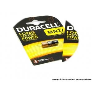 BATTERIA DURACELL MN27 (A27) 12V/B - BLISTER 1 PZ 1,99€