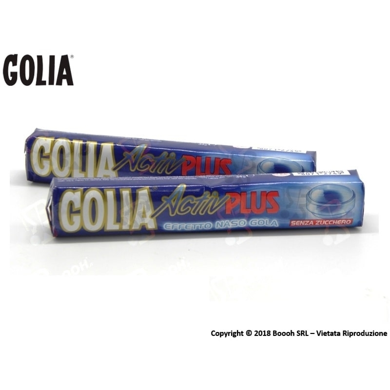 GOLIA CARAMELLE ACTIV PLUS BALSAMICHE SENZA ZUCCHERO - STICK SFUSI O CONFEZIONE COMPLETA 0,99€