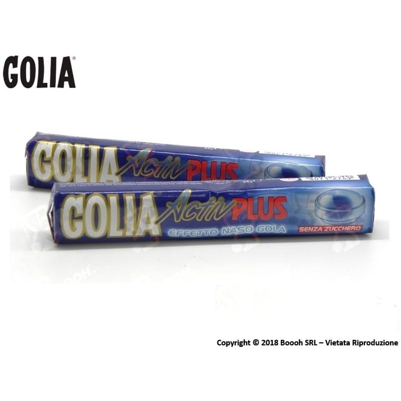 GOLIA CARAMELLE ACTIV PLUS BALSAMICHE SENZA ZUCCHERO - STICK SFUSI 0,99€