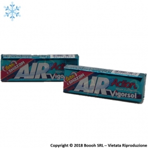 AIR ACTION VIGORSOL XTREME CHEWING GUM - STICK SFUSI | GOMME DA MASTICARE 0,99 €
