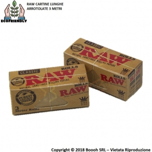 RAW CARTINE ROLLS LUNGHE - 1 ROTOLO 1,19 €