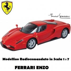 FERRARI ENZO MACCHINA MODELLINO SCALA 1:7 RADIOCOMANDATA - MJX R/C TECHNIC LIMITED EDITION   SPEDIZIONE GRATUITA 89,99€