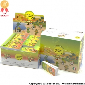 FILTRI IN CARTA MAD4 RASTA FRIENDS - BOX DA 80 BLOCCHETTI 10,77 €