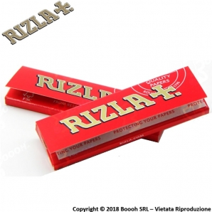 RIZLA CARTINA ROSSA CORTA SINGOLA RED REGULAR - 1 LIBRETTO DA 50 CARTINE 0,29 €