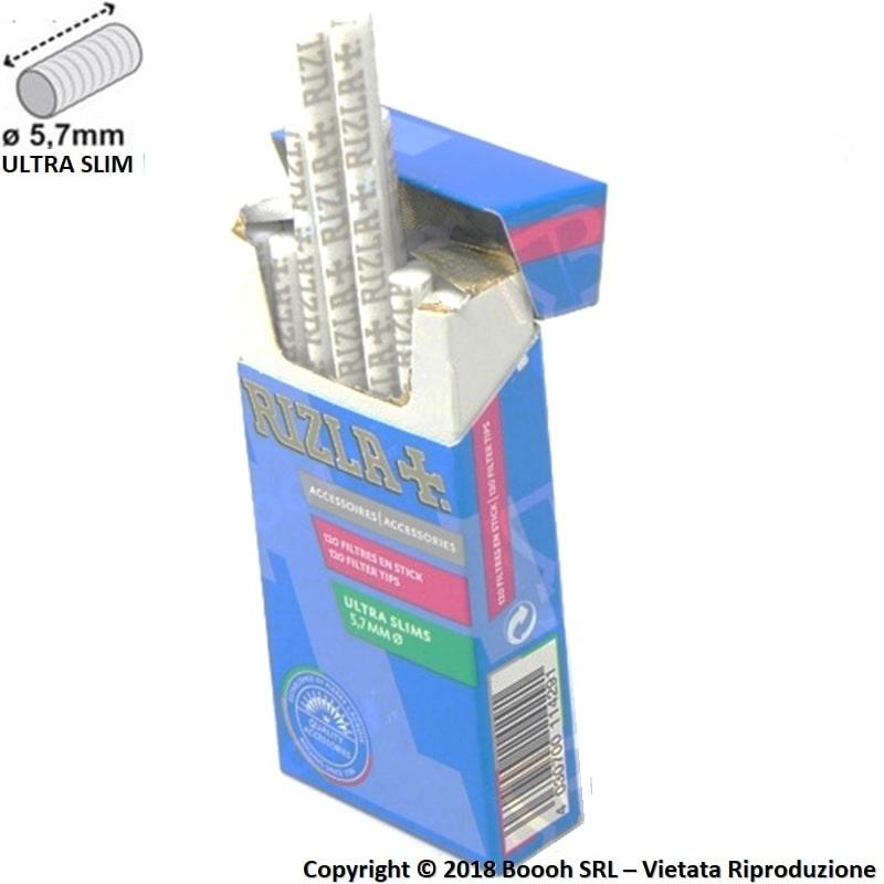 RIZLA FILTRI ULTRA SLIM 5,7MM - 1 ASTUCCIO DA 120 FILTRI 0,79€