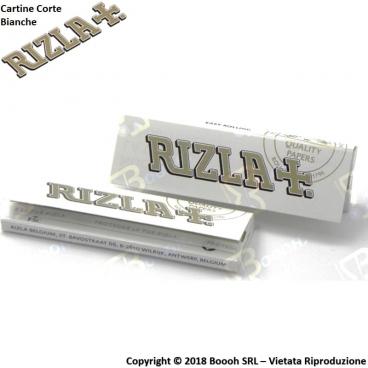 RIZLA CARTINE SINGOLE BIANCHE CORTE WHITE - 1 LIBRETTO DA 50 CARTINE