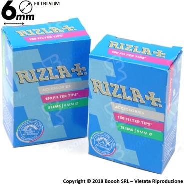 RIZLA FILTRI SLIM 6MM - 1 ASTUCCIO DA 150 FILTRI