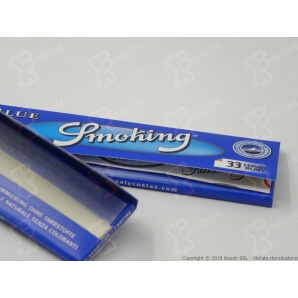 CARTINE SMOKING BLU KING SIZE SLIM LUNGHE - LIBRETTO SINGOLO 0,69 €