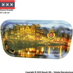 VASSOIO PER ROLLARE AMSTERDAM CANAL GRANDE - PROFESSIONAL LARGE ROLLING TRAY 5,99 €