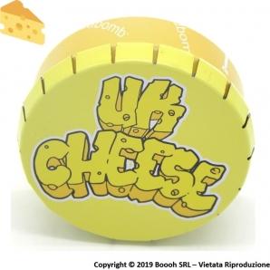 UK CHEESE SCATOLA CLICK-CLACK (Ø 5,5 CM) - 1 BARATTOLO PORTA INFIORESCENZE DI CANAPA O TABACCO 3,49€