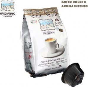 16 CAPSULE TO.DA CAFFE' GATTOPARDO MISCELA QUALITA' GUSTO SPECIAL - COMPATIBILI SISTEMI NESCAFE' DOLCE GUSTO 4,59€