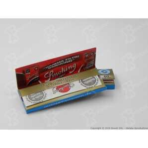 CARTINE SMOKING BLU CORTE SINGOLE REGULAR SIZE - LIBRETTO SINGOLO 0,32€