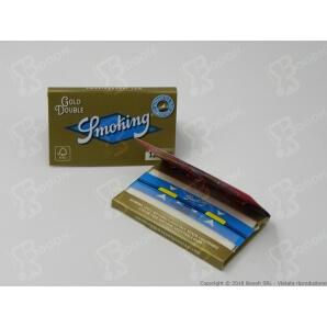 SMOKING CARTINE GOLD DOPPIE CORTE ORO - 1 LIBRETTO DA 120 CARTINE 0,69€