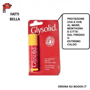 GLYSOLID SALVALABBRA BURRO DI CACAO GIALLO PROTEZIONE ALTA UVA E UVB - 1 PEZZO (BLISTER DA ESPOSITORE NON COMPRESO) 1,29€