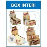 Raw Cartine Pura Canapa Corte e Lunghe : Vendita Box Interi|  Boooh.it
