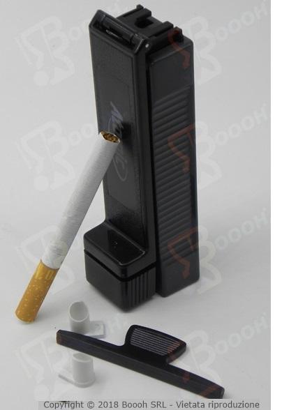 Immagine di proprietà della Boooh Srl. Atomic riempi sigarette vuote