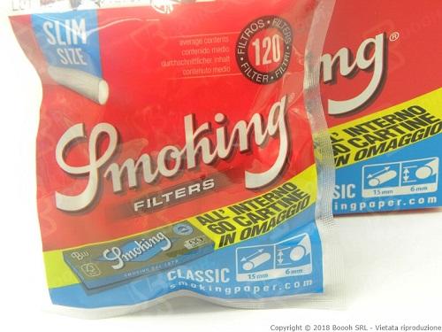 Box Smoking Filtri + Cartina Blu Omaggio.Immagine di proprietà della Boooh Srl