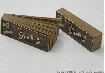 Blocchetto di Filtri Smoking Brown in vendita su Boooh.it