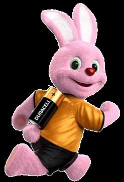 Logo Coniglio della Duracell. Prodotti Pile e Batterie in Vendita su Boooh.it